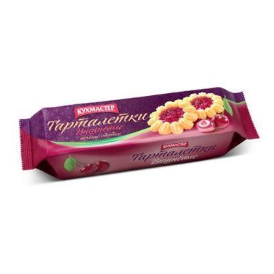 Печенье Кухмастер Вишневые тарталетки