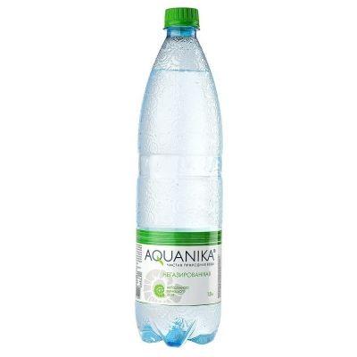 Вода минеральная Акваника высшей категории негазированная ПЭТ