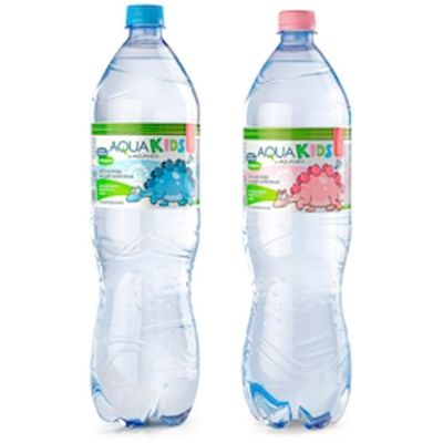 Вода минеральная Акваника детская питьевая природная артезианская (Aquanika Kids) негазированная ПЭТ