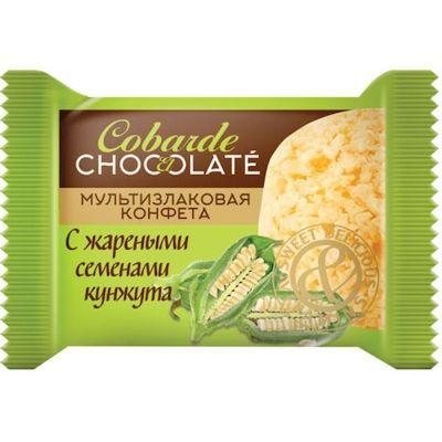 Конфеты COBARDE el chocolate мультизлаковые с жареным кунжутом