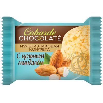 Конфеты COBARDE el chocolate мультизлаковые с миндалем