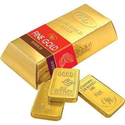 Шоколад Монетный двор Слитки Золотой стандарт