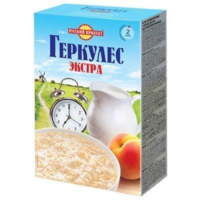 Геркулес Русский продукт Экстра быстрого приготовления (Овсяные хлопья)