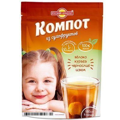 Компот из сухофруктов Русский продукт моментального приготовления
