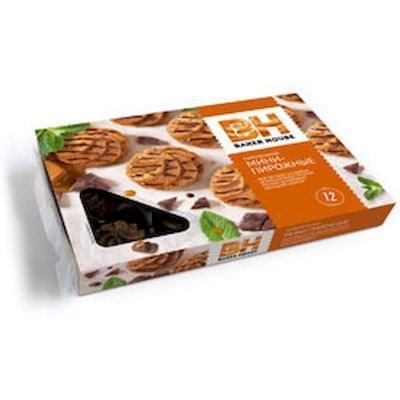 Пирожные-мини крошковые Baker House Карамельные