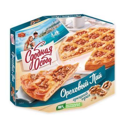 Пирог Черемушки Ореховый пай Грецкий орех