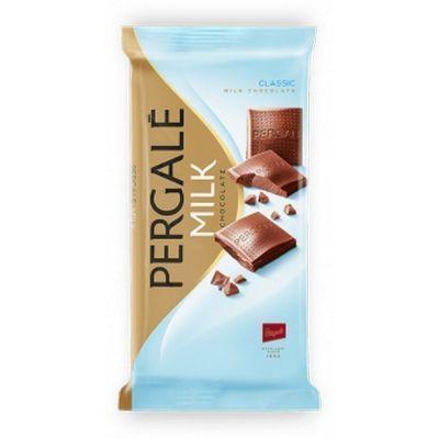 Шоколад молочный Pergale