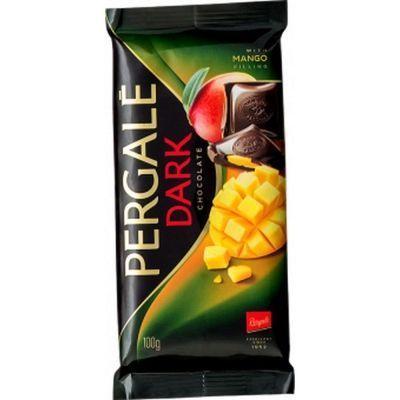 Шоколад темный Pergale с начинкой манго