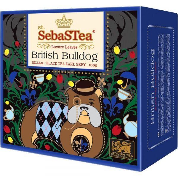 Чай черный SebaSTea British Bulldog