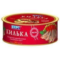 Килька балтийская Барс в томатном соусе ж/б easy open