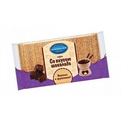 Вафли Коломенское шоколадный вкус