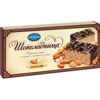 Торт Шоколадница с миндалем