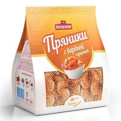 Пряники Посиделкино Классические мини с вареной сгущенкой