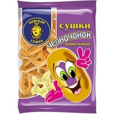 Сушки Невская сушка Челночонок ванильный