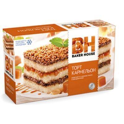 Торт бисквитный Baker House Кармельон