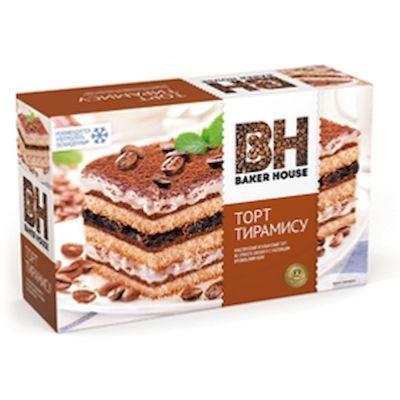 Торт бисквитный Baker House Тирамису