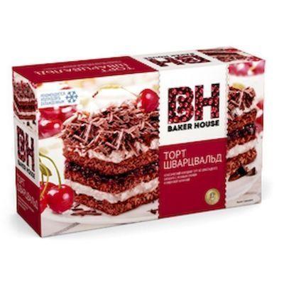 Торт бисквитный Baker House Шварцвальд