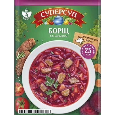 Суперсуп Русский продукт Борщ по-украински