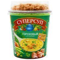 Суперсуп Русский продукт Гороховый с беконом+гренки