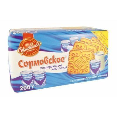 Печенье Сормовское сгущенное молоко