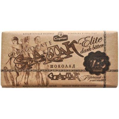 Шоколад Спартак горький элитный 72% эт-крафт