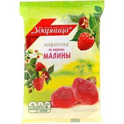 Мармелад Ударница вкус малины