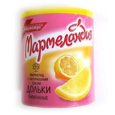 Мармелад Мармеландия лимонные дольки