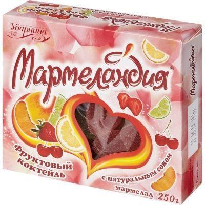 Мармелад Мармеландия Фруктовый коктейль