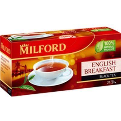 Чай Милфорд Английский завтрак 20 пак.
