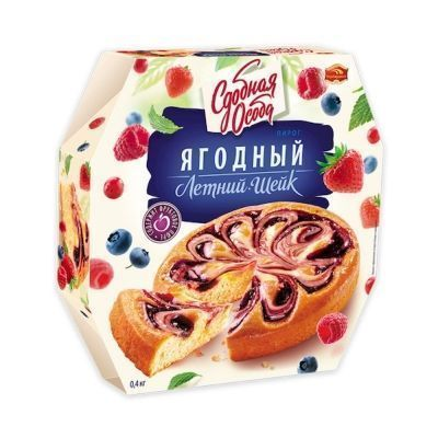 Пирог Черемушки Лесная ягода (Летний шейк)