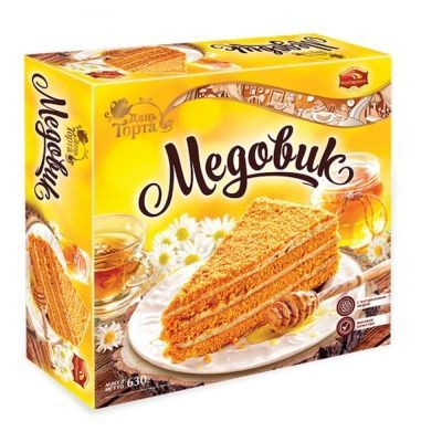 Торт Черемушки Медовик