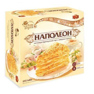Торт Черемушки Наполеон слоеный