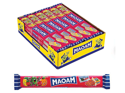 Жевательные конфеты 'Косичка MAOAM'