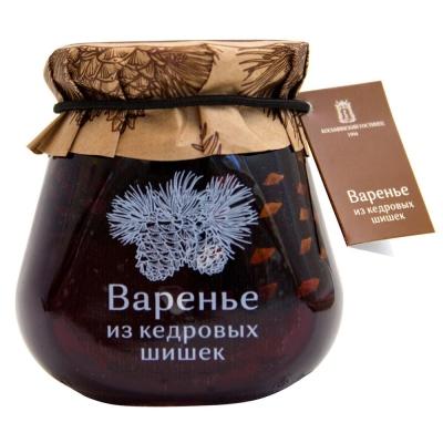 Варенье Косьминский гостинец из кедровых шишек