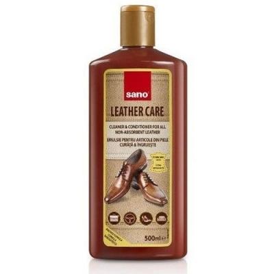 Средство для чистки кожи Sano Leather Care очищает, освежает цвет, отталкивает пыль