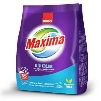 Стиральный порошок концентрированный Sano Maxima Bio 35 стирок