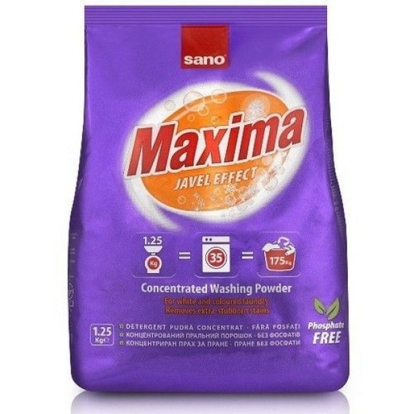 Стиральный порошок концентрированный Sano Maxima Javel 35 стирок