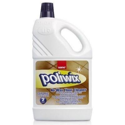 Средство для мытья полов Sano Poliwix Ceramic предотвращает скольжение (бутыль)