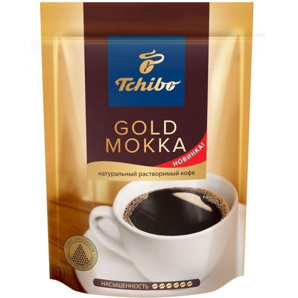 Кофе Чибо Голд Мокка растворимый с добавлением молотого