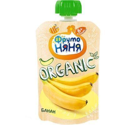 Пюре ФрутоНяня банан Organic пауч