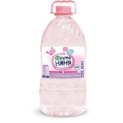 Вода ФрутоНяня детская питьевая негазированная