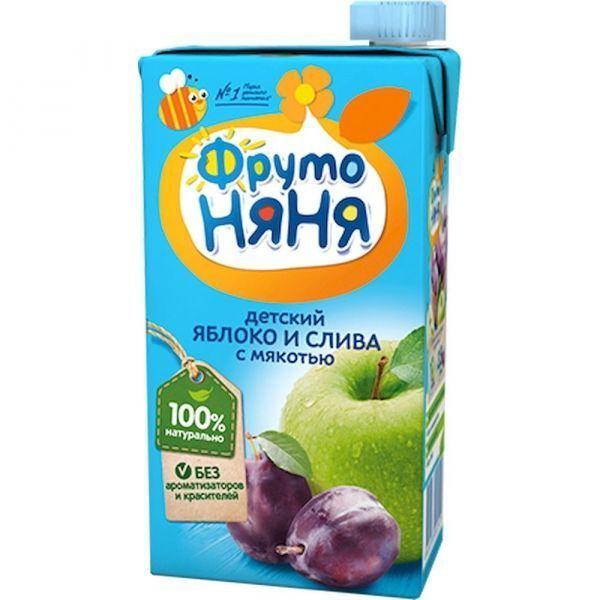 Сок ФрутоНяня яблочно-сливовый