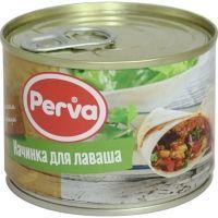 Начинка для лаваша куриная Курганский мясокомбинат Perva ключ