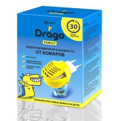 Электрофумигатор + жидкость от комаров GraSS Drago