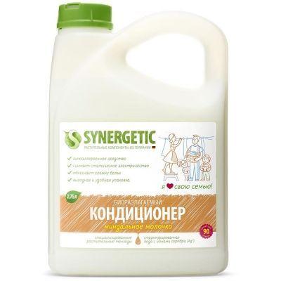 Кондиционер для белья Synergetic Миндальное молочко