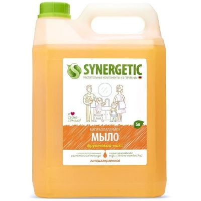 Мыло жидкое Synergetic Фруктовый микс