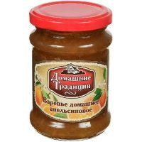 Варенье домашнее Домашние Традиции АПЕЛЬСИНОВОЕ ГОСТ ст/б