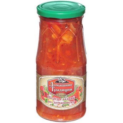 Перец сладкий Домашние Традиции по-домашнему ст/б