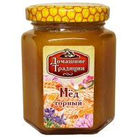 Мед натуральный Домашние Традиции горный ГОСТ ст/б