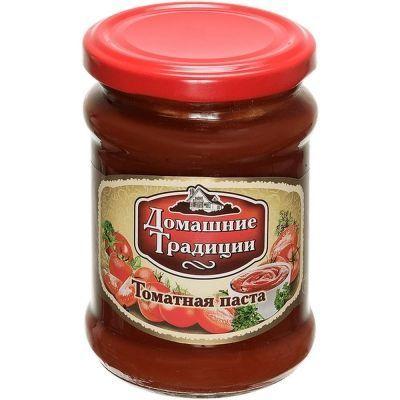 Томатная паста Домашние Традиции ГОСТ ст/б